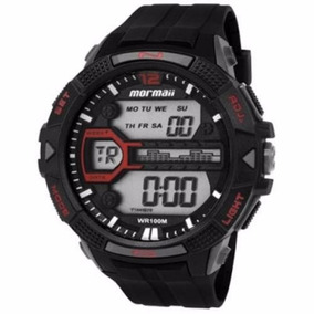 Relógio Mormaii Masculino Wave Digital Mo5000/8a Wr 100m/