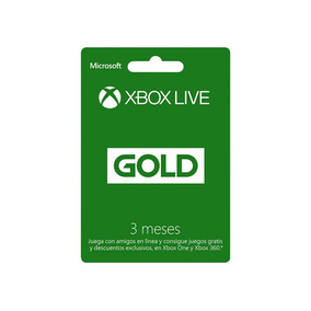 Membresia Xbox Live Gold 3 Meses Envio Instantaneo *e-mail*