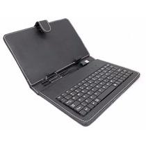 Teclado Y Funda Para Tablet Pc Laptop 7 Pulgadas Entrada Usb