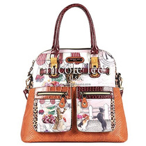 Bolso Nicole Lee Suzys Collection Claire Blocked Euro !