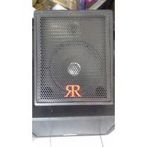 Caixa Acústica Som Monitor Retorno Palco 80w Rms - Passiva