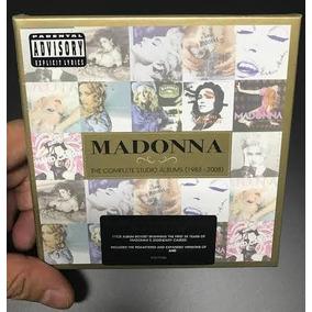 Box Madonna Complete St Album 1983 2008 11cds Pronta Entrega