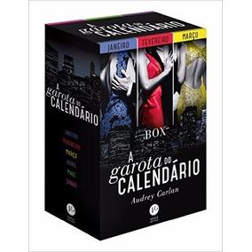 Box A Garota Do Calendário 6 Livros Audrey Carlan