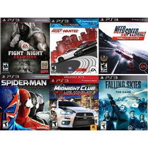 Pack De 6 Juegos Ps3 Spiderman Need For Speed Midnight Club