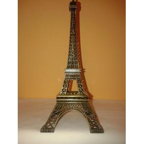 Torre Eiffel Metal Ideal Adorno Miniatura Colección