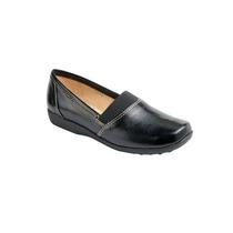 Zapato De Descanso Para Dama Piel Negro Modelo 1270