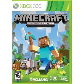 Minecraft Xbox 360 Edition , Mídia Física Lacrado Novo