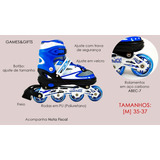 Patins Roller Profissional Chassis Alumínio Abec-7