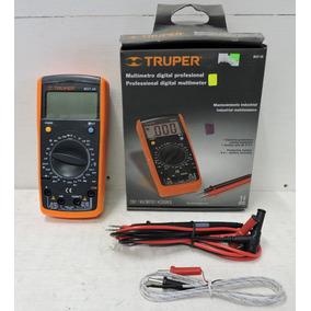 Multimetro Industrial Truper Mut-39