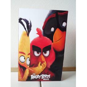 10 Bolsitas Cumpleaños Angry Birds Personalizadas Zona Lomas