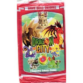 200 Cards Dragon City = 50 Pacotes Fechados