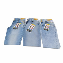 03 Calças Jeans Sawary Feminina 46 Queima De Estoque