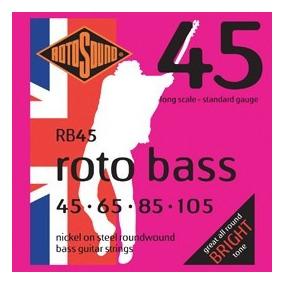 Rotosound Rb45 Roto Bass Para Baixo 4 Cordas Strings
