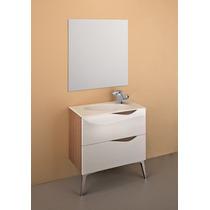 Mueble Baño Gabinete Lavabo Espejo Madera Gb 2089 61 Gravita