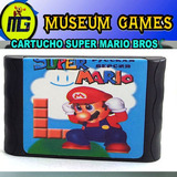 Super Mario World Cartucho Para Sega 16 Bits -local-