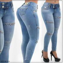 Calça Pit Bull Jeans Clara Com Cordão Promoção