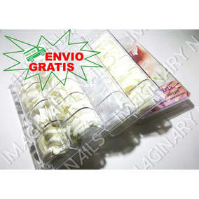 1500 Tips Para Uñas De Acrilico Natural Cristal French