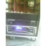 Power Amplificador Sound Barrier Pcs 5000 Miniteca O Sonido