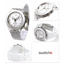 Relógio Swatch Full Blooded White Svck4045ag - 12x Sem Juros