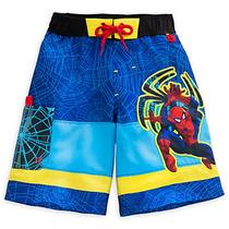 Malla Disney Store Hombre Araña Protección Solar Talle 7/8