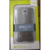 Protector Funda Delgada Samsung S5 Mobo Color Humo
