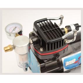 Compresor Brushmax I 1/5 Hp Profesional Aerografo