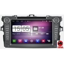 Central Multimídia Android 4.4 Aikon S160 Corolla 2012 2013