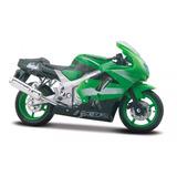 Kawasaki Ninja Zx 9r Escala 1:18 Maisto