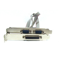 Placa Pci Serial Paralela Multiserial 2 Rs232 + 1 Db25 Lpt