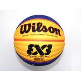 Balon Wilson Basquetbol 3x3 Fiba Oficial Con Envío