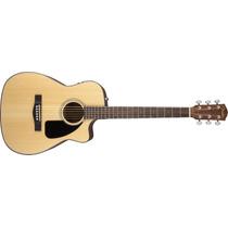 Violao Fender Folk Com Case 096 1454 - Cf-60 Ce - 221 - Nat