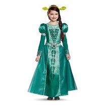 Disfraz Para Niña Disfraz Fiona Deluxe, Pequeño (4-6x)