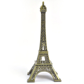Enfeite Para Mesa Torre Eiffel Paris - 10 Cm