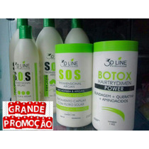 Cauterização E Reconstrução Capilar+botox+banho De Verniz