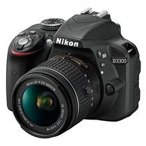 D3300 Nikon Com Lente Af-p Dx 18-55mm
