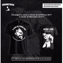 Remera Sudametrica Original * A Cara De Perro Zoo 2017