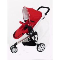Carrinho De Bebê 3 Rodas Liberty Red - Dardara