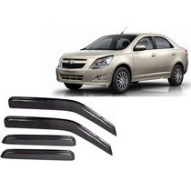 Jgo Calha De Chuva Chevrolet Cobalt 2012 A 2014