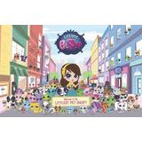 Painel Decorativo Festa Infantil Littlest Pet Shop (mod1)