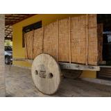 Carro De Boi Antigo Para Uso Ou Decoração