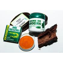 Kit Aroeira - Sabonete, Creme, Cha De Casca, Pomada + Brinde