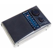 Rádio Portátil Sony Icf-18 Envio Imediato