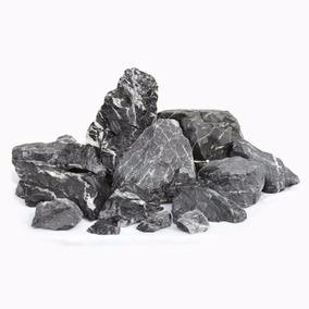 Rocha Decorativa Para Aquarios Black Rock Mbreda Preço/ Kilo