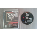 Juego Guitar Hero 5 Ps3