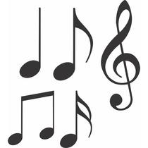 Adesivo Decorativos Notas Musicais Para Quarto,armário,etc