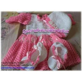Vestido Tejido Para Niñas