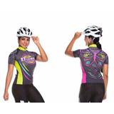 Camisa Feminina Bike Basic Line Butterfly Tamanho G