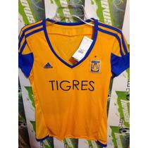 Jersey Adidas Tigres D Nuevo Leon 100%original ·oferta·mujer