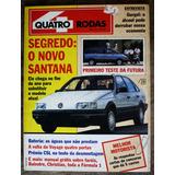 Revista Quatro Rodas 357 1990 Ano 30 N° 4 O Novo Santana