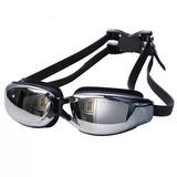 Óculos De Natação Profissional Espelhado Com Proteção Uv